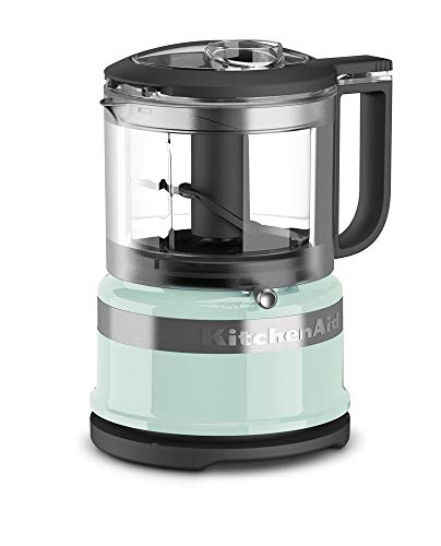 KitchenAid KFC3516IC 3.5 Cup Food Chopper, Ice (Renewed) (Ice Food Blue Processor)