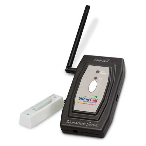 (Silent Call Signature Series Doorbell Transmitter with Remote Button)