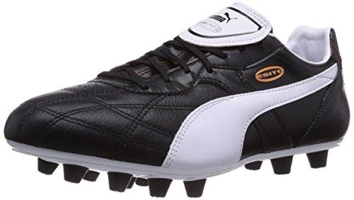 Puma Esito Classico FG, Herren Fußballschuhe, Schwarz (black-white-bronze 01), 43 EU (9 Herren UK)