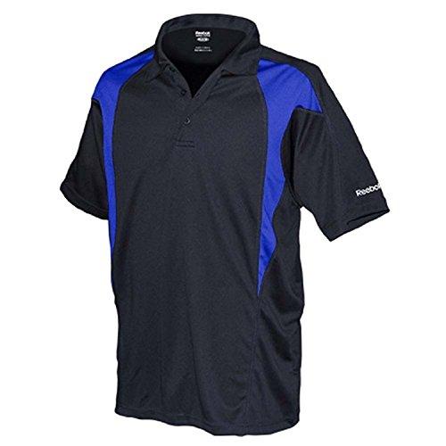 REEBOK GOLF NEW Mens Size ColorBlock Dri-fit Sport t Shirts 2X 3X 4X 5X POLO Royal 3XL