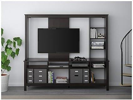 Ikea 2214.22017.184 - Mueble para TV, Color Negro y marrón: Amazon ...