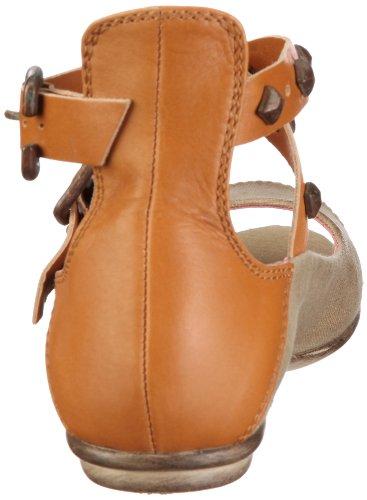 Fornarina CAROLE PEFEO7739WV00 - Sandalias de vestir de lona para mujer Beige
