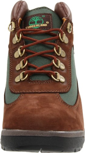 Big Olive Kid Little Brown Timberland Toddler Kid Lace Up Brown Boot Field 1xfWwv0qF