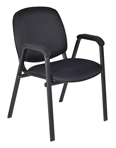 (Regency Ace Stack Chair, Midnight Black)