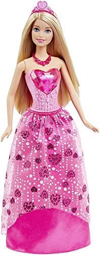 - Barbie Princess Doll Gem Fashion