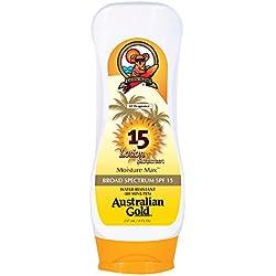 Australian Gold SPF 15 Lotion Sunscreen, Moisture Max, 8 Fl Oz