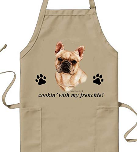 Best of Breed French Bulldog Cream Cookin' Aprons