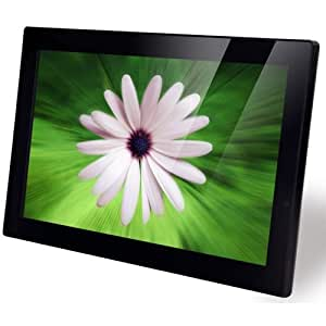 NIX 15 Inch Hi-Resolution Digital Picture Frame, 1GB Internal Memory, Photo, Video, Music, Split Screen Option - Plug & Play X15A