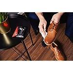 Kaps Lingettes humides de Nettoyage et de Polissage pour Chaussures de, Lingettes jetables d'entretien des Chaussures… 9