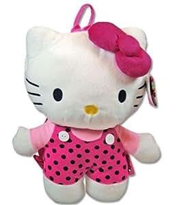 Hello Kitty Plush Backpack Pink or Polka Dot