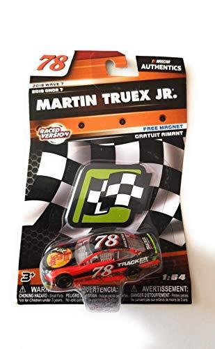 NASCAR Authentics Martin Truex Jr. #78 Diecast Car 1/64 Scale - 2018 Wave 7 - with Free Die-Cut Magnet - Collectible (Martin Truex Jr Diecast 1 64)