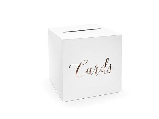 Geldbox Dinero Caja para Tarjetas de Boda Regalo de Boda: Amazon ...