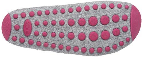 Scholl SPIKEY3 - zuecos de fieltro mujer gris - gris