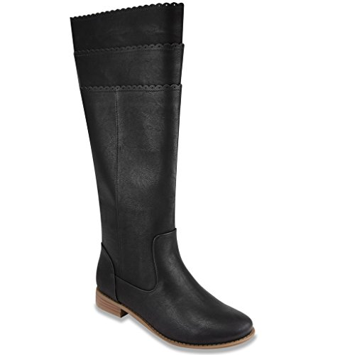 Mari A HONIE Dress Boot Black Burnished