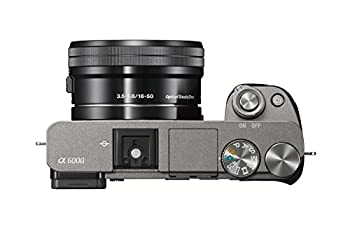 Sony Alpha A6000 Mirrorless Digital Camera With 16-50mm Lens, Graphite (Ilce-6000lh) 4