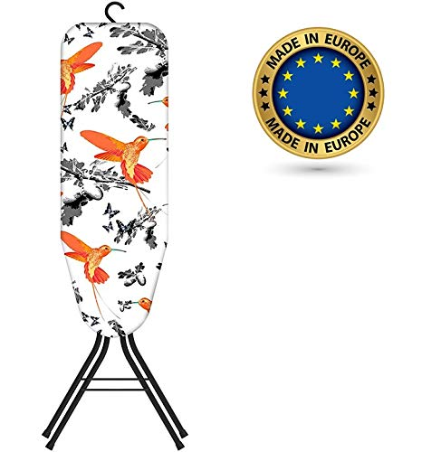 Bartnelli Rorets Compact Space Saving Ironing Board Hanger – with Smart Hanger for Easy Storage | 4 Layer Cover Pad | 4…