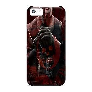 Iphone 5c RQy3574mJSm Custom Beautiful Gears Of War 3 Series Anti-Scratch Cell-phone Hard Cover -IanJoeyPatricia