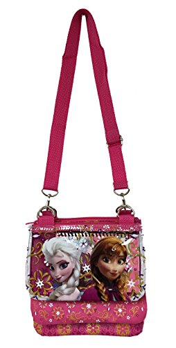 Messenger Disney Strap Cross Adjustable Bag Elsa Purse Frozen Pink Shoulder FXqrwXH1n