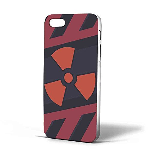 CSGO Nuke Pattern, Iphone Case Cover iPhone 5/5s white