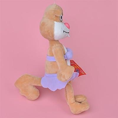 25cm Sandy Squirrel Stuffed Plush Toy, Baby Dolls: Toys & Games
