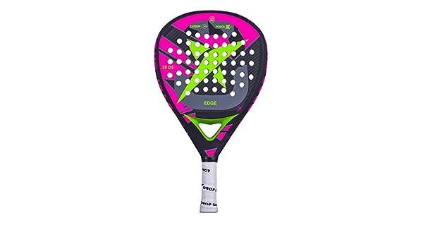Amazon.com : Drop Shot Edge, Padel Tennis Racquet Unisex Adult, Black, 360 - 380 g : Sports & Outdoors