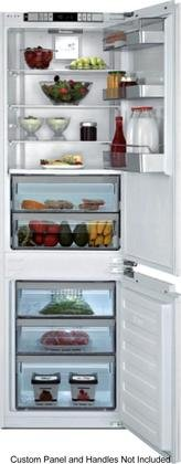 Blomberg BRFB1052FFBI 24'' Fully Integrated Refrigerator with 8.4 cu. ft. Capacity Duocycle Hygiene+ HygAir and Automatic Ice Maker in Panel