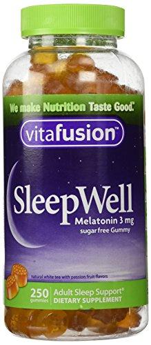 - vitafusion SleepWell, 250 Gummies,3mg,Sugarfree