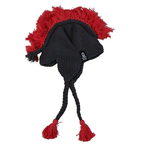 Cheap Quick And Easy Costumes (Beard Head Spartan Edition Crochet Helmet / Hat)