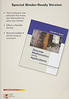 Book Package: Loose Leaf for Discrete Mathematics and Its Applications with 1 Semester Connect Access Card