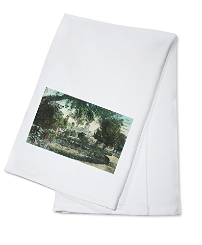 san-mateo-california-exterior-view-of-the-peninsula-hotel-100-cotton-absorbent-kitchen-towel
