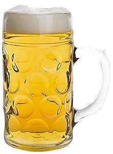 Juego de 2jarra de cerveza (Isar stölzle 1L