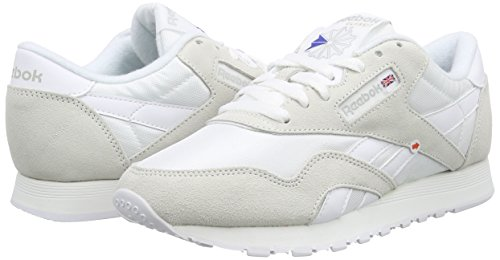 Light Reebok Sneaker Weiß Classic Herren Grey Nylon White w4YUCwq
