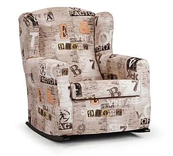 Sessel Schaukelstuhl Modell Fenix Loft Beige