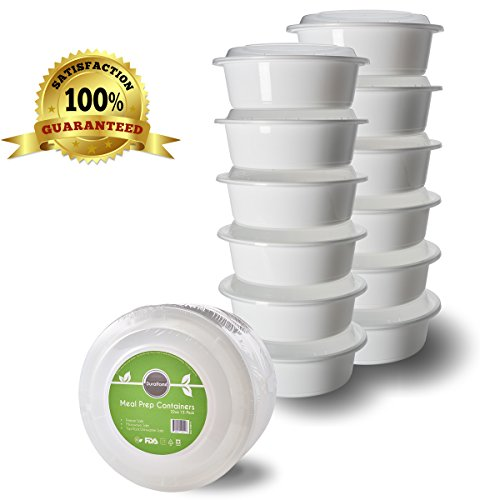 DuraHome - Meal Prep Containers with Lids, 32oz. (7