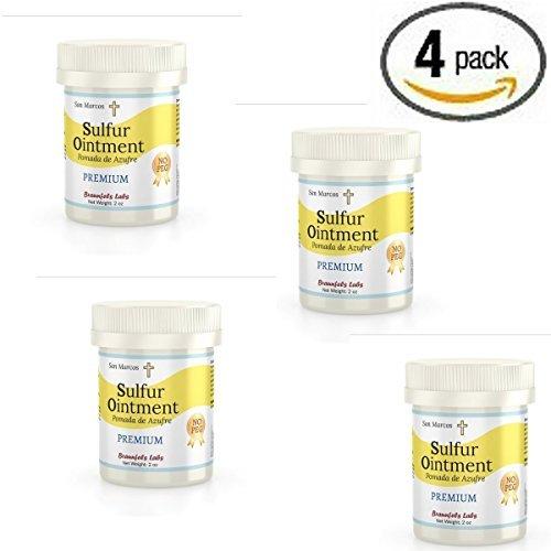 - premium Sulfur Ointment - . Go All Natural ! No PEG (Zero Polyethylene Glycol) by San - Premium Marcos San