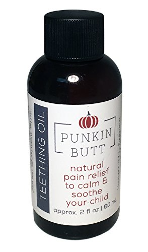 Punkin Butt Teething Oil 2 oz. | Natural Relief for Babies First Teeth