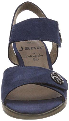 28308 Blu Alla Sandali Cinturino Donna Con Caviglia X7qpzh Navy Jana 08nwPkO