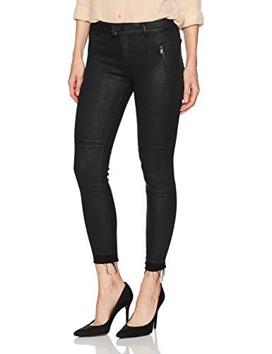 Donna Da Jeans Skinny Nero Zip Rivestito Firenze Dl1961 vBq5gww