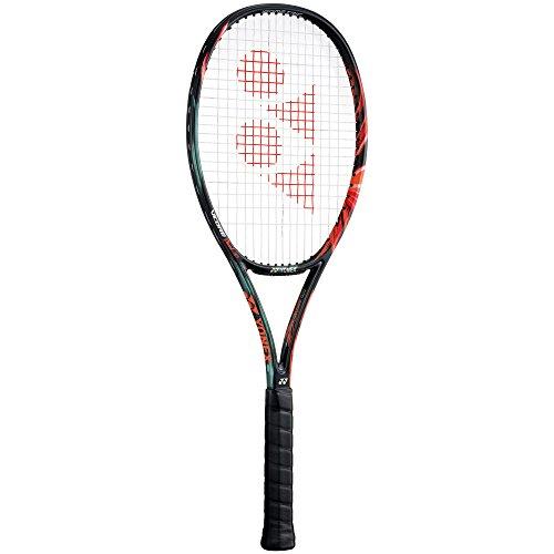 Yonex TVCDG97L5 VCore Duel G 97 Graphite Tennis Racquet, 4 3/8 inch  Black/Orange