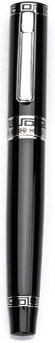 MINGSHENGWANGLUOKEJI ブラックファッションビジネスペンインクペン先 ペン、筆記用具 (Color : Black)