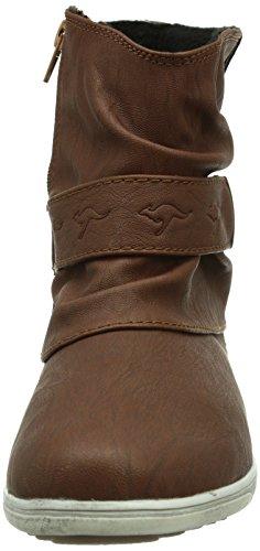 KangaROOS Boot Marron 300 Brown 5008 K femme Bottes wfwHx7A