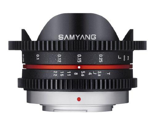 Samyang Cine SYCV75MFT 7.5mm T3.8 Cine Fisheye Lens for Olympus/Panasonic Micro 4/3 Cameras
