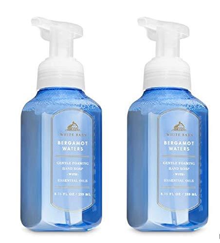 White Barn by Bath & Body Works Gentle Foaming Hand Soap in Bergamot Waters (2 Pack)