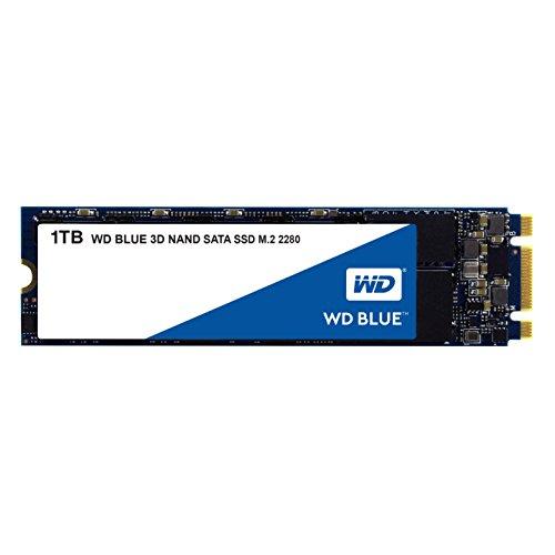 Western Digital Blue 3D NAND 1TB PC SSD - SATA III 6 Gb/s M.2 2280 Solid State Drive - WDS100T2B0B