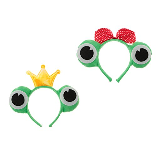 MonkeyJack Lovely Frog Style Headband Christmas Couple Headdress Frog Role Play