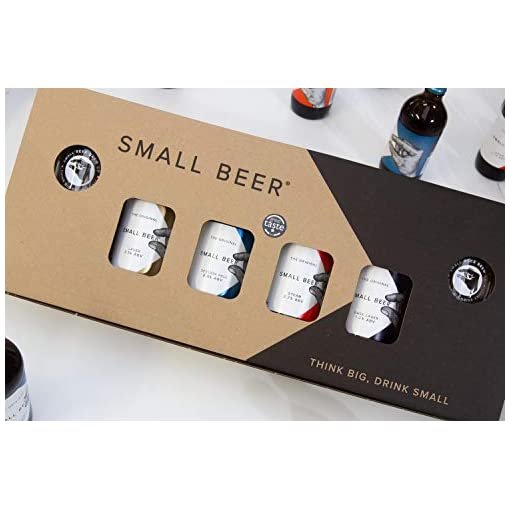 41RRWXNz4kL Small-Beer-Low-Alcohol-Beer-Beer-Gift-Pack-4x350ml-bottles-and-2-glasses