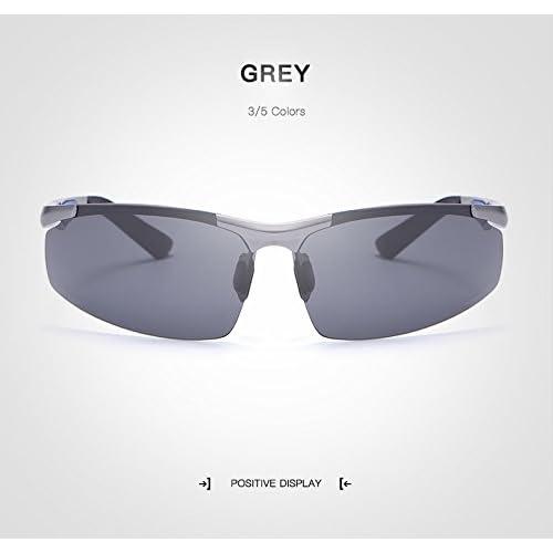 aecf089c7c Nuevo MXNET Gafas de sol para adultos, Gafas sin marco Male Rectángulo sin  rebordes Gafas de ...