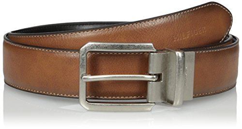 - Tommy Hilfiger Men's Tommy Hilfiger Men's 1 3/8 in. Feather Edge Reversible With Stitch Belt