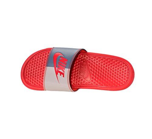 Nike Tongs Rouge Benassi carbone Habanero Pour Wmns Jdi Femme Rouge Lger rq8frx