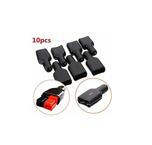 Brccee AC 10PCS FR PVC Cover Flame Retardant Sleeve for ANDERSON Powerpole Connector Housing